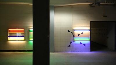 Nord Ost Art 01 - Kunst im alten Heizhaus und den Fertigungshallen des Nordostpark in Nürnberg