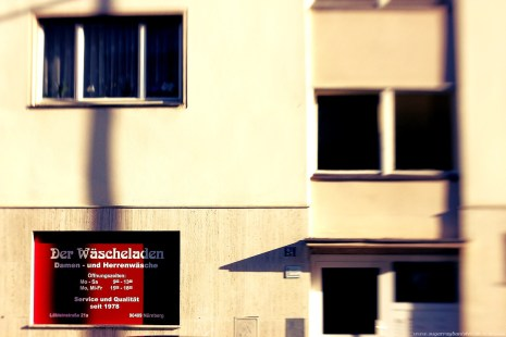 Nürnberg Impressionen #15 Bild 03 Der Wäscheladen