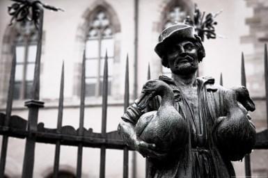 Orte der Renaissance Nürnberg - Gänsemännleinbrunnen