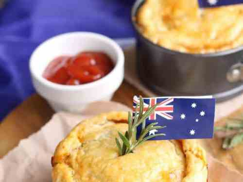 Slow Cooked Lamb & Rosemary Pies. Delicious slow cooked lamb encased in my favourite buttery, flaky pastry.