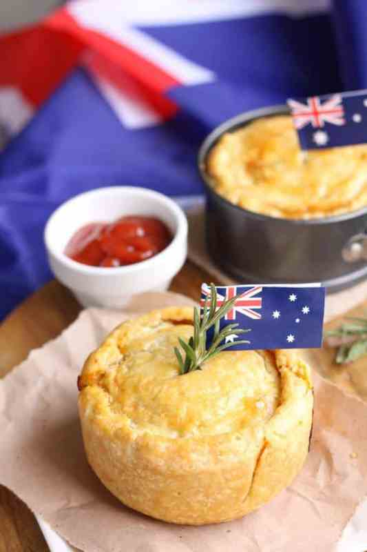 Slow Cooked Lamb & Rosemary Pies