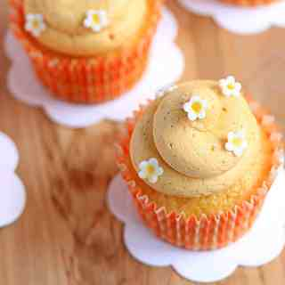 Dreamy Creamy Orange Cupcakes