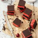 Cherry Coconut Chocolate Tart by Sugar Salt Magic