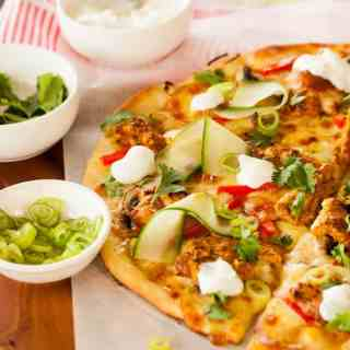 Tandoori Chicken Pizza