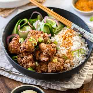 Karaage Chicken (Japanese Fried Chicken)