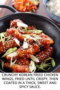 Crunchy Korean Fried Chicken Wings