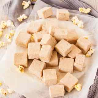 Butter Popcorn Easy Fudge