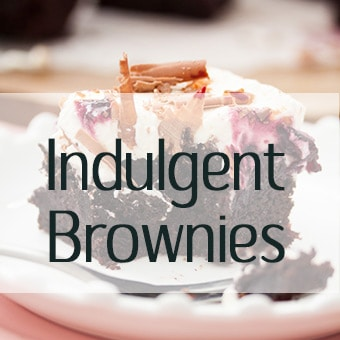 Collection of Brownies Recipes - chocolate fudge brownies, chocolate chip brownies, tim tam brownies