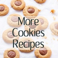 More Cookies Recipes - chocolate chip cookies, chocolate cookies, vanilla cookies, shortbread, macarons, snowball cookies