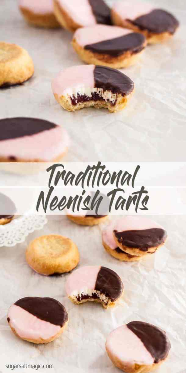 Neenish Tarts are a small pastry tart, layers of jam and mock cream filling and topped with two-tone icing. #australiaday #australiadayfood