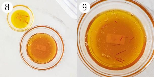 Image showing Saffron Honey sauce