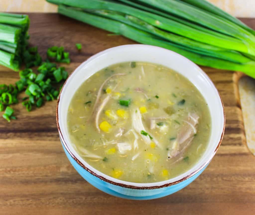 healthy chicken corn chowder 3
