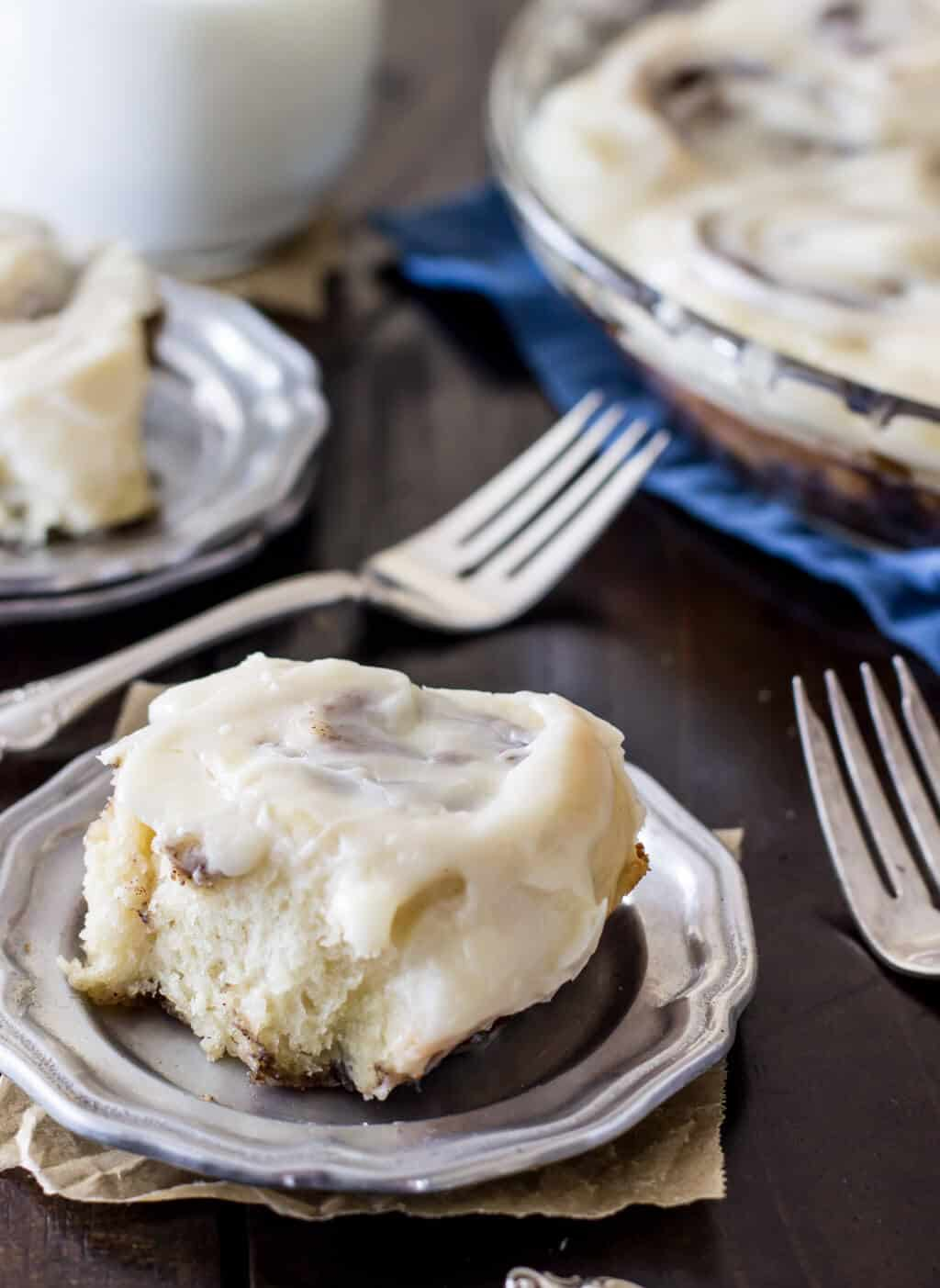 Easy Cinnamon Rolls No Yeast