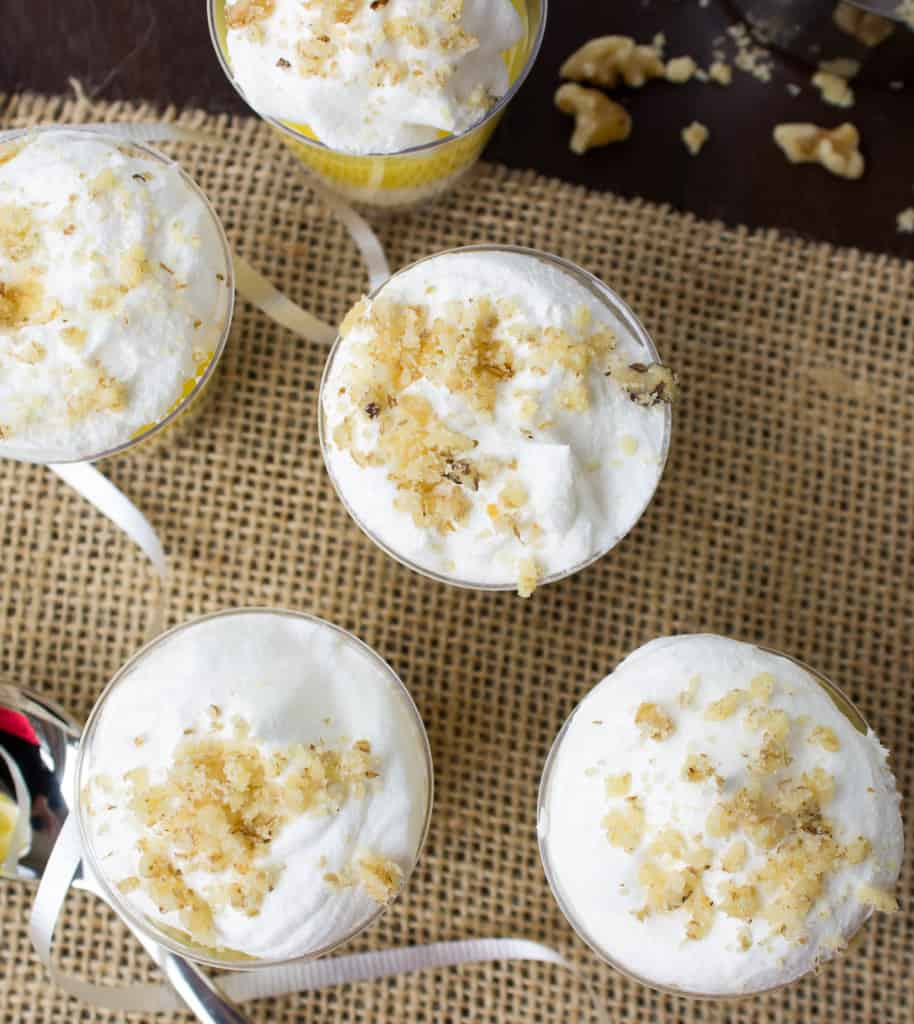 Lemon Lush Dessert Shooters
