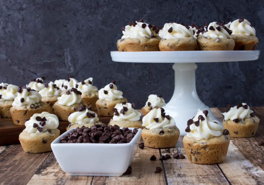 Cheesecake Filled Cookie Cups -- So easy and delicious!