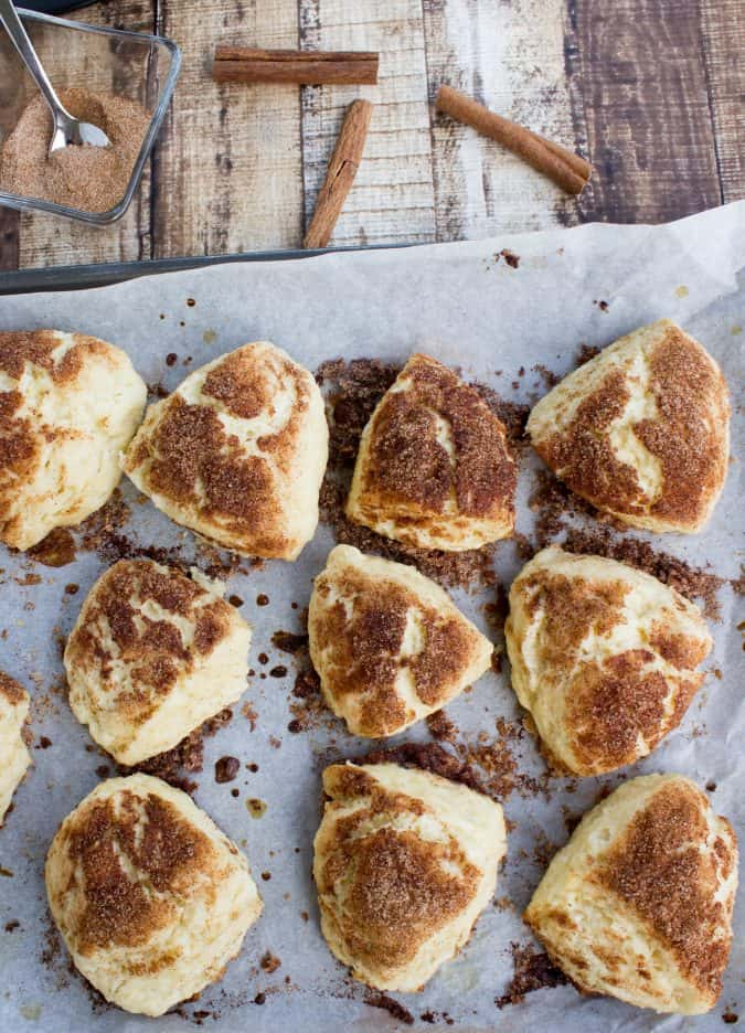snickerdoodle scones