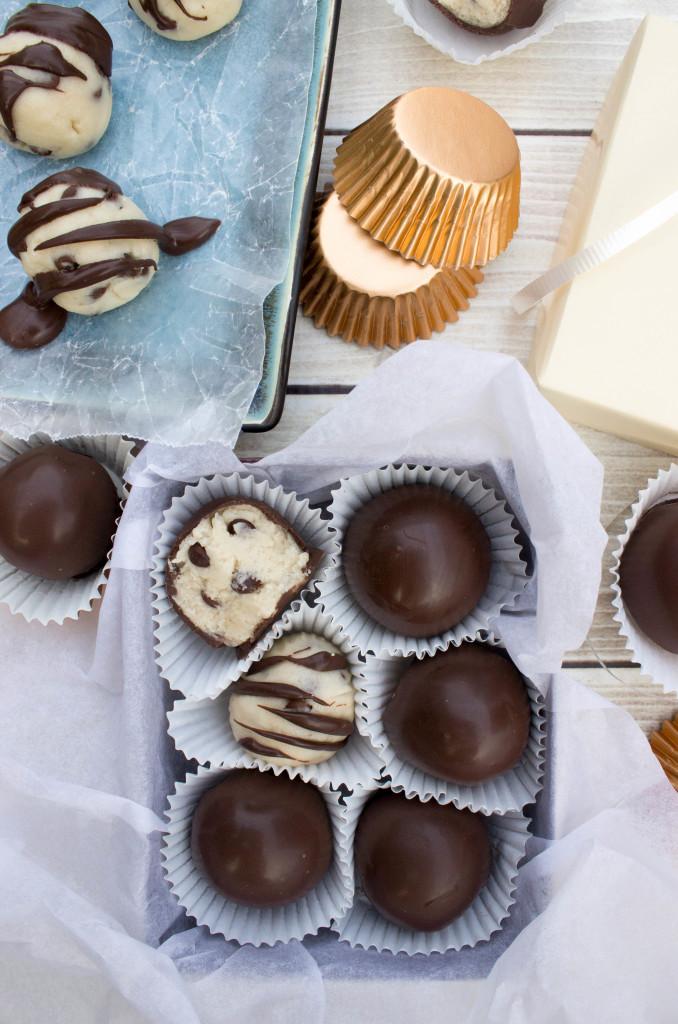 cookie dough truffles-9