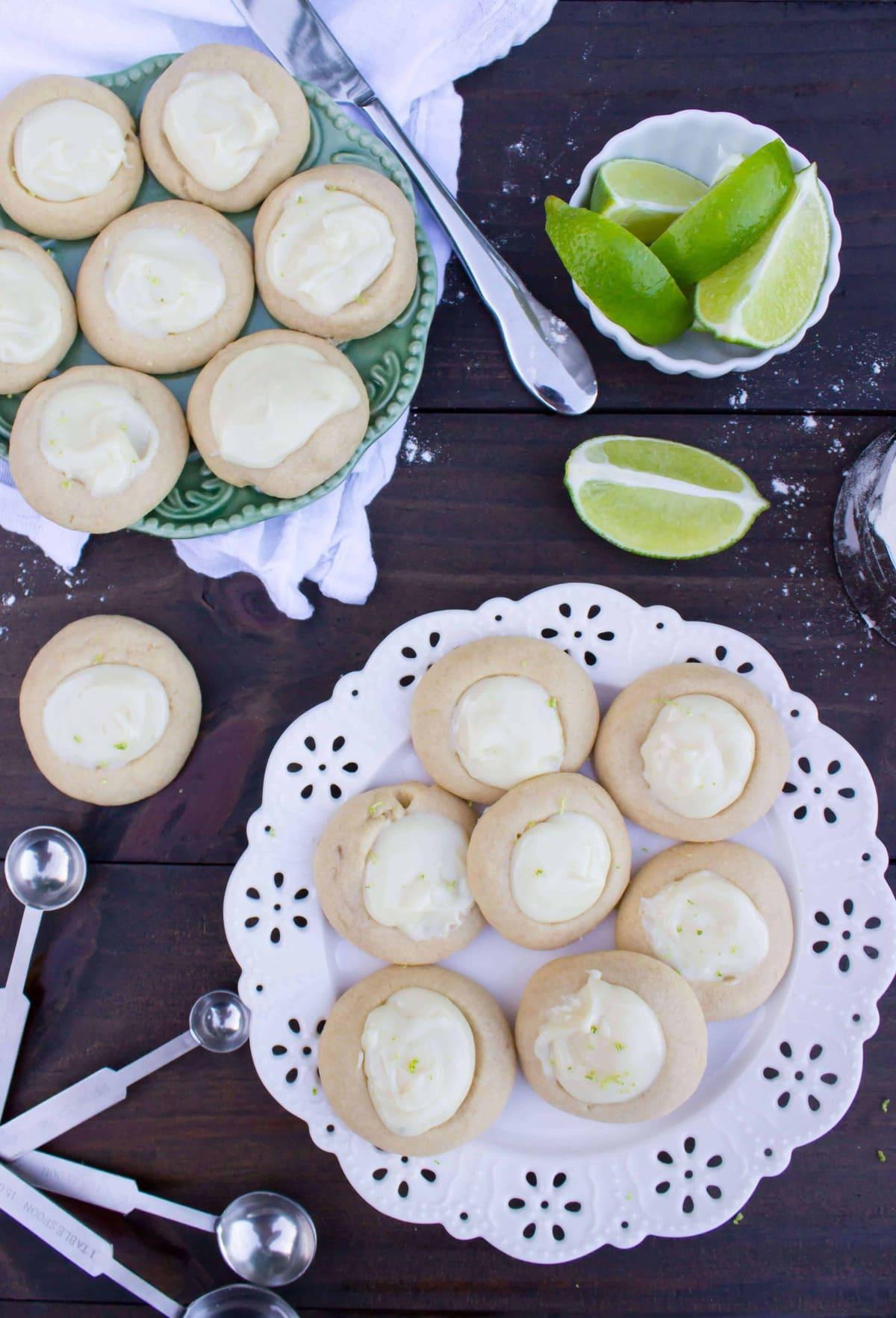 key lime cookies-4