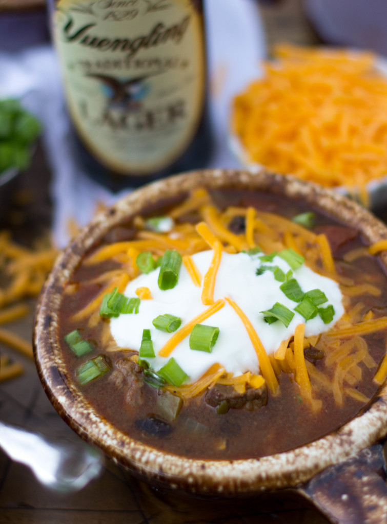 Beer Steak Chili