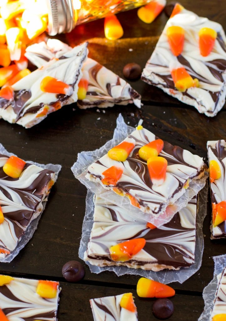 candy corn bark-8