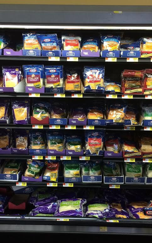 Kraft at Wal Mart