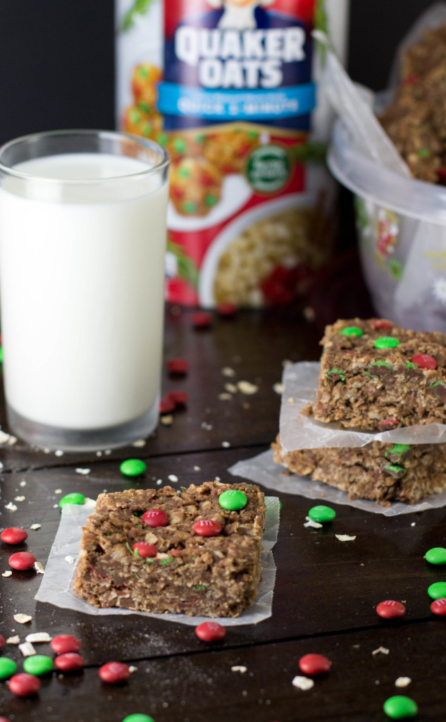 Easy Chocolate & Oat Candy Bars (No-bake!)