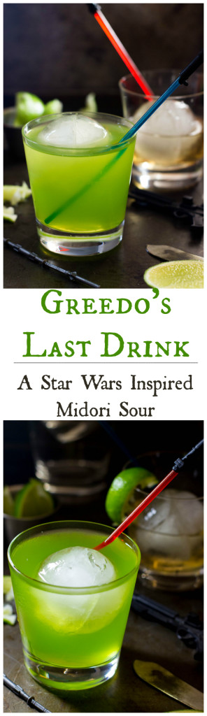 A Star Wars Inspired Midori Sour