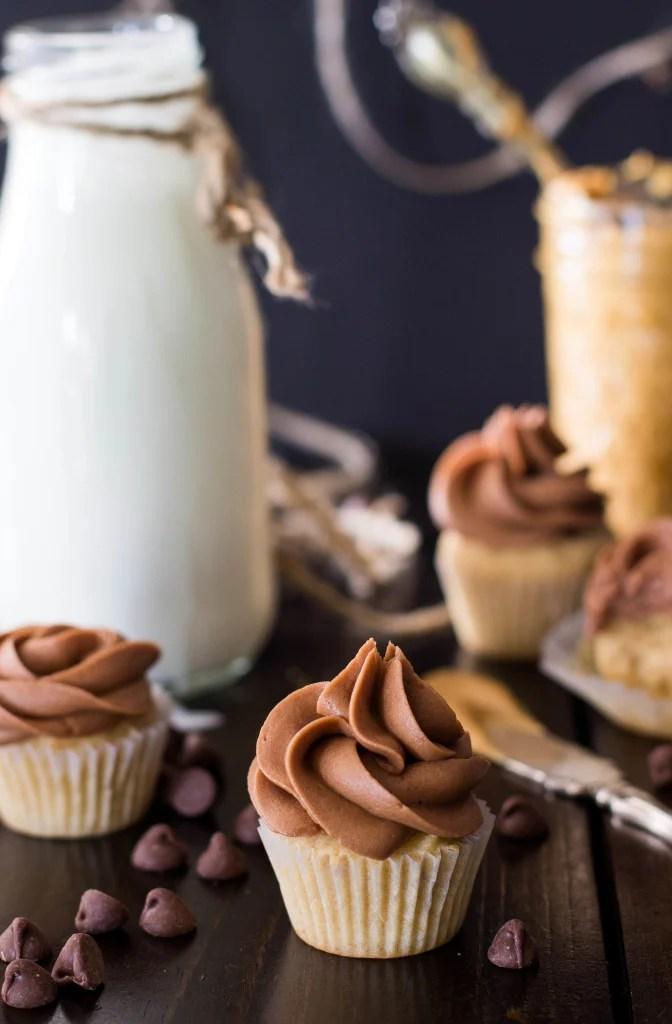 peanut butter cupcakes-7