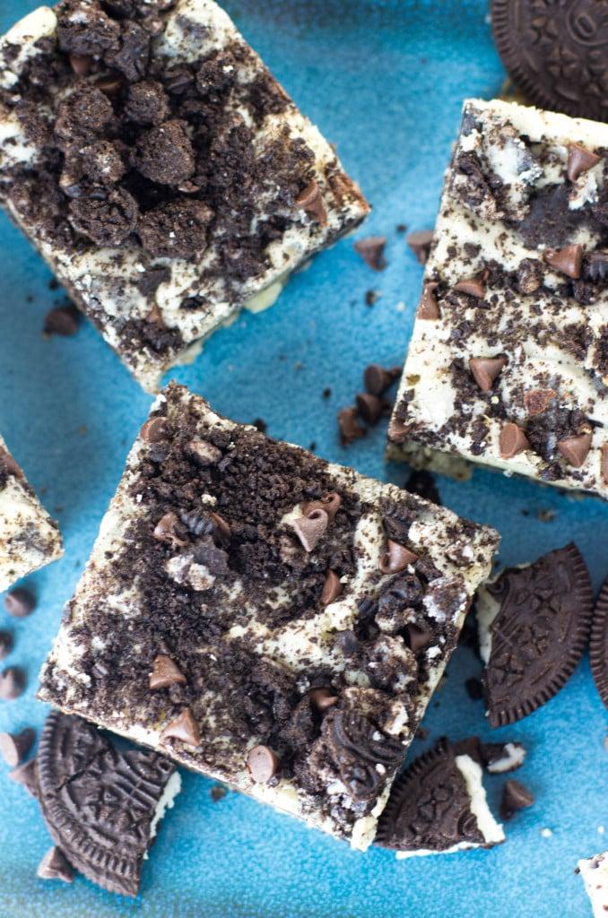 cookies and cream oreo bars-3