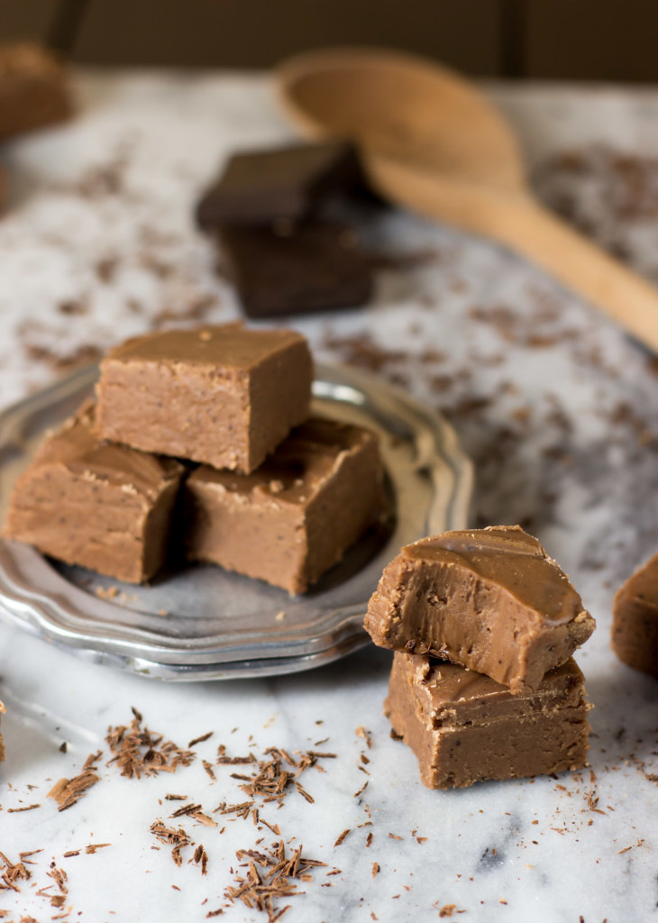 Best Chocolate Fudge Recipe -- Old fashioned -- SugarSpunRun.com