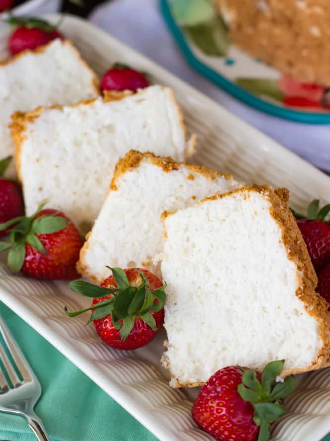 The BEST Angel Food Cake Recipe! || Sugar Spun Run