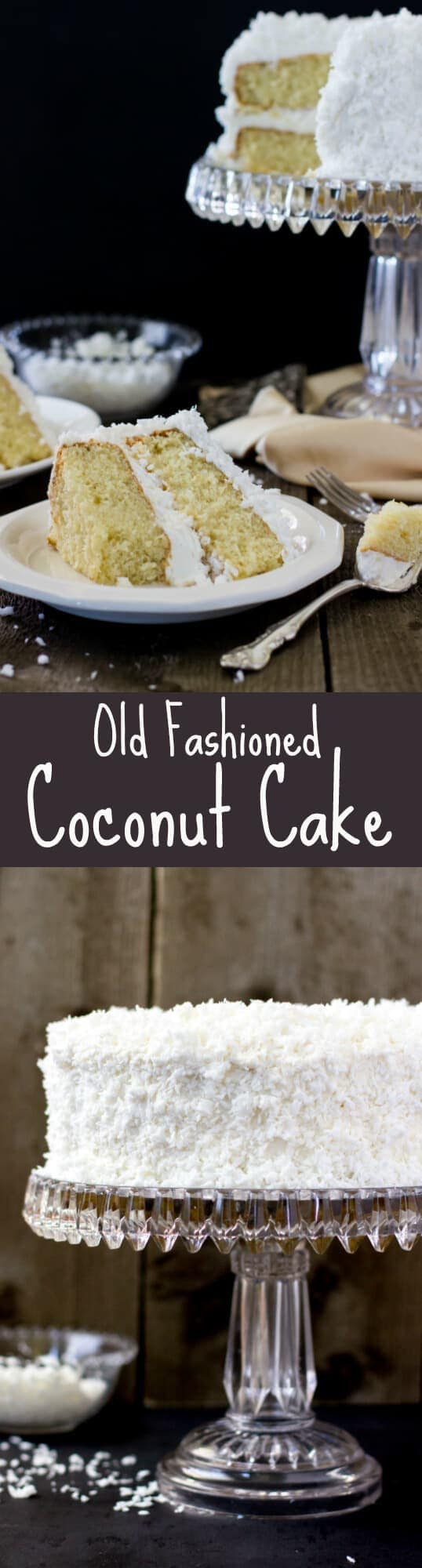 Old Fashioned Coconut Cake -- this is my new favorite coconut cake recipe!