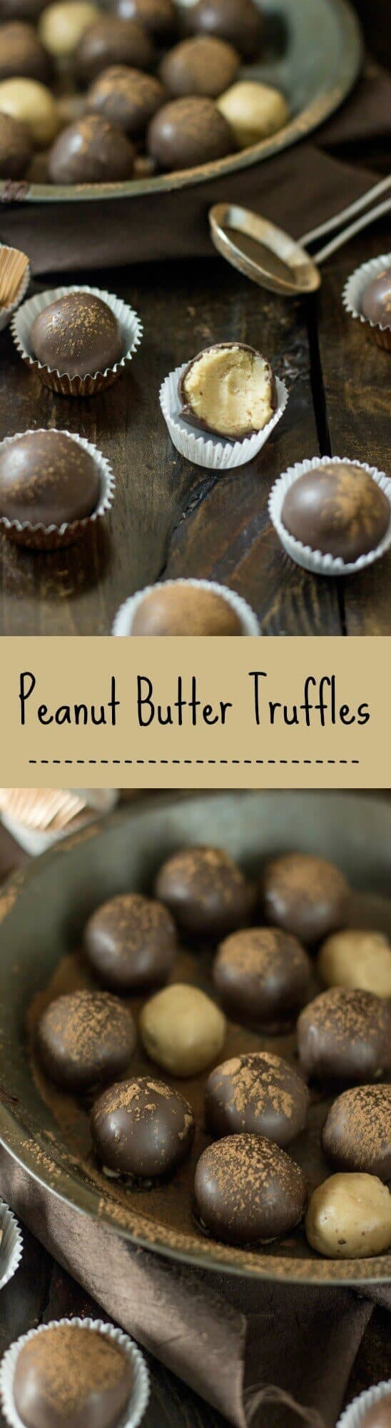 The EASIEST ever Peanut Butter Truffles!