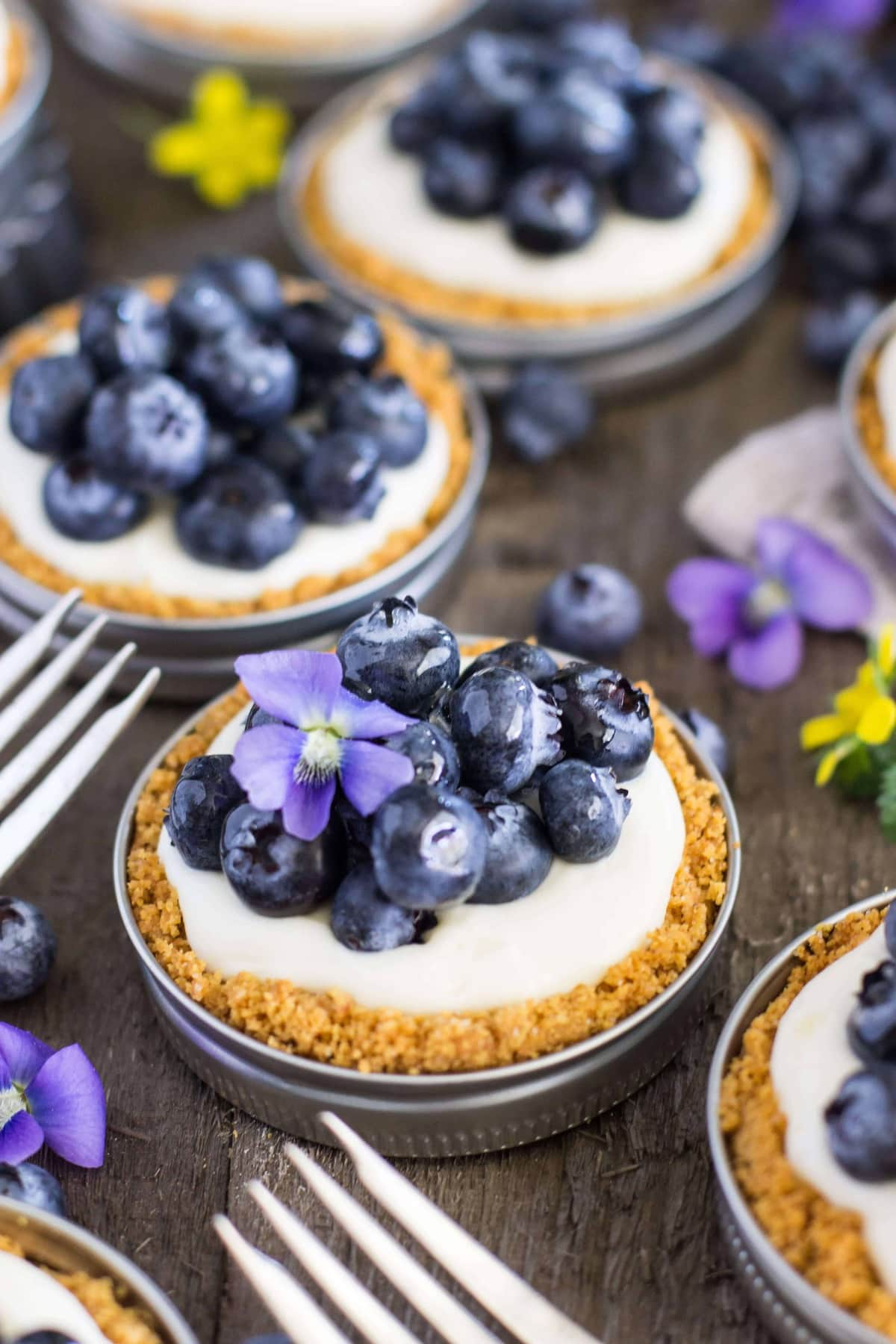 blueberry lemon tarts