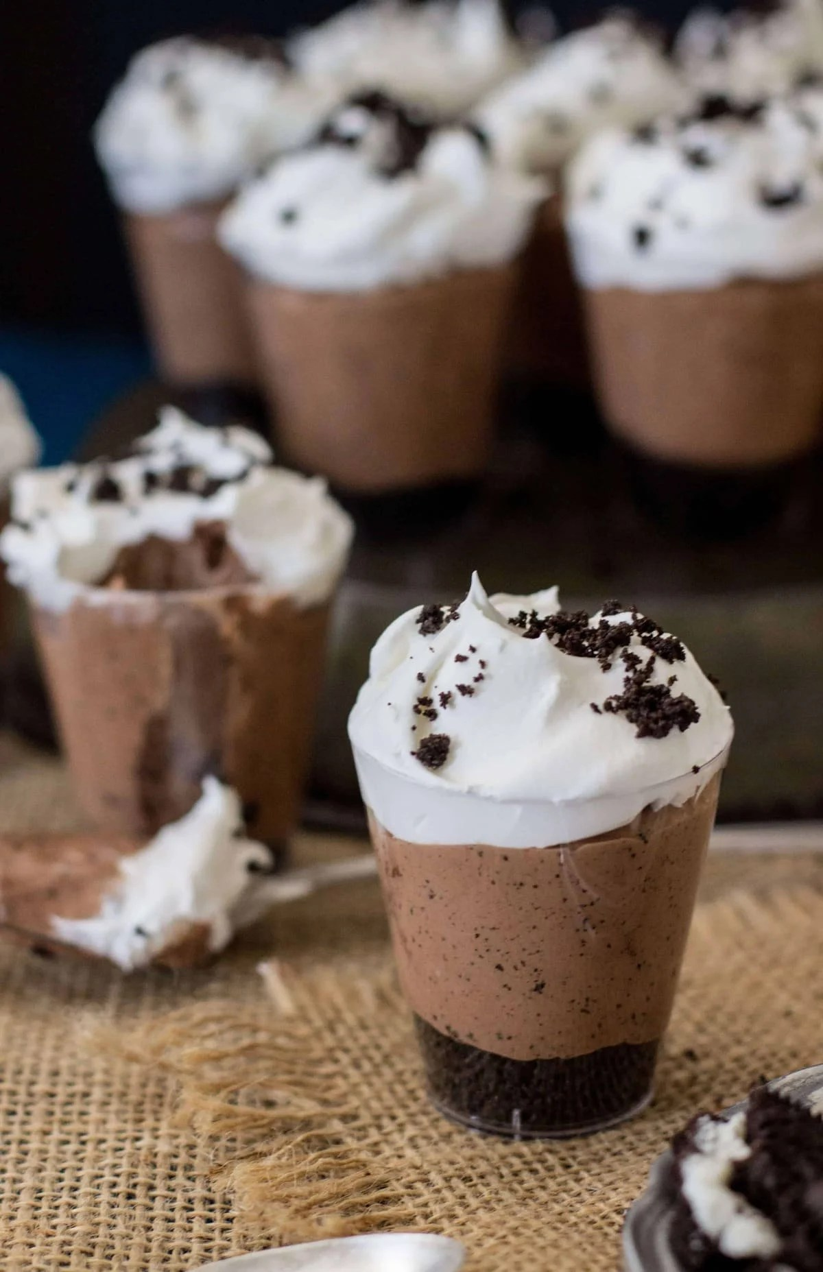 Nutella Crunch Dessert Shooters Sugar Spun Run