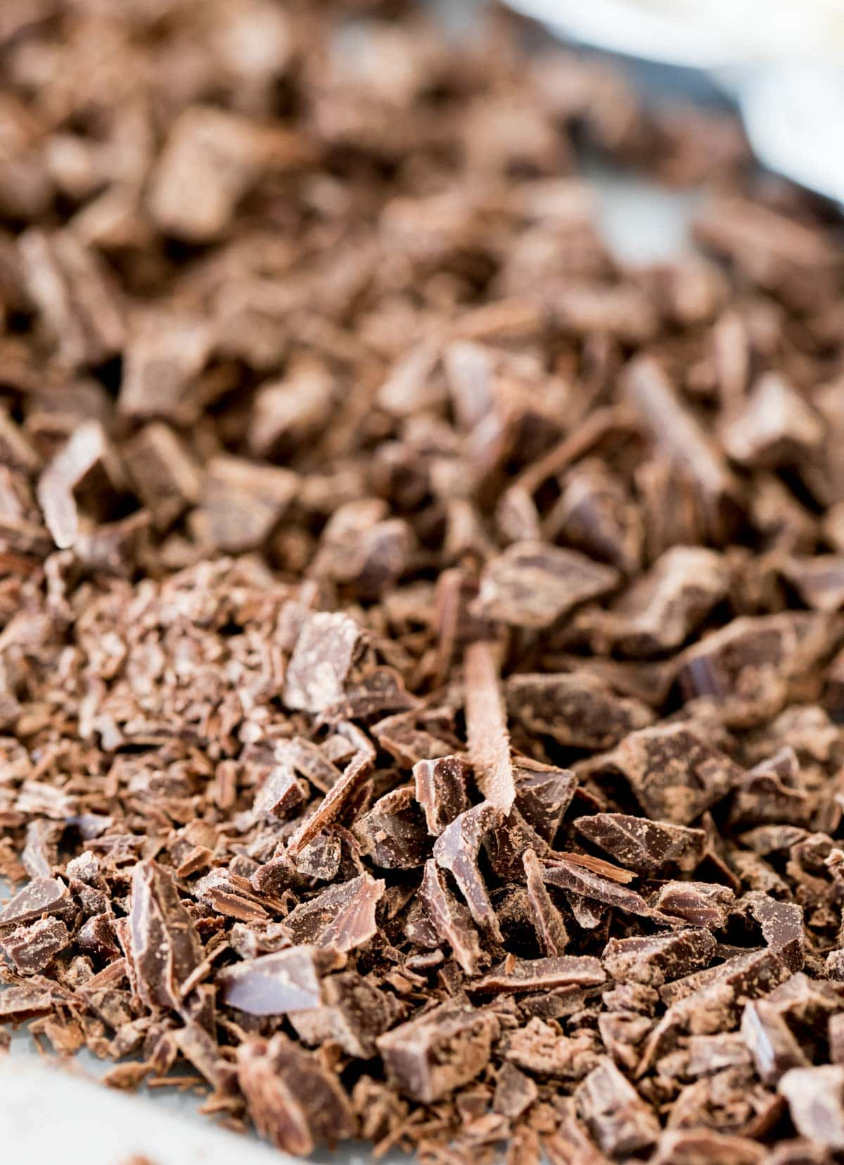 finely chopped chocolate