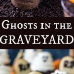 Ghosts in the graveyard Dessert shooters
