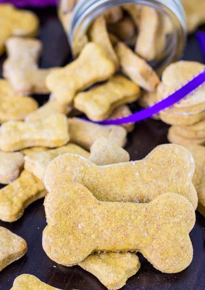 Homemade Dog Cookies    Sugar Spun Run