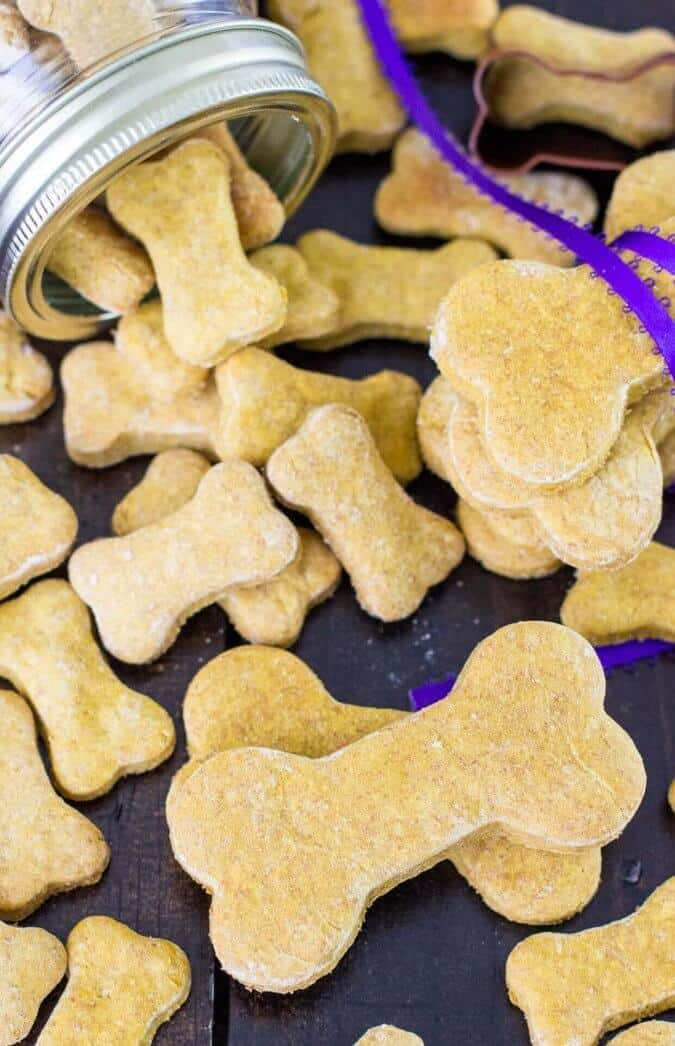 Homemade Dog Cookies || Sugar Spun Run