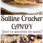 Saltine Cracker candy