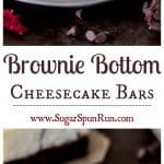 Brownie Bottom Cheesecake Bars