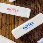 Sticks of salted and unsalted butter
