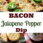 Bacon Jalapeno Popper Dip || Sugar Spun Run
