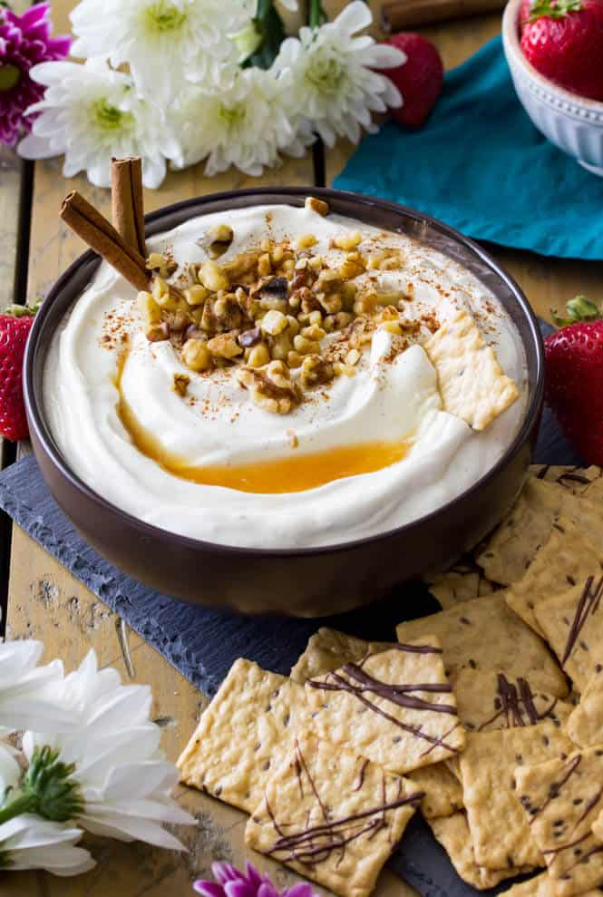 Sweet, simple Baklava Dip || Sugar Spun Run