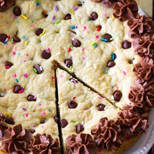 Big Frosted Cookie Cake Sugar Spun Run