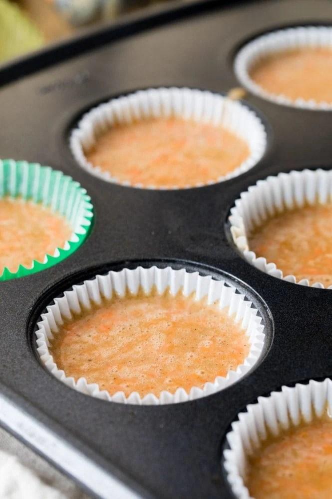 Carrot Cake Cupcake Batter
