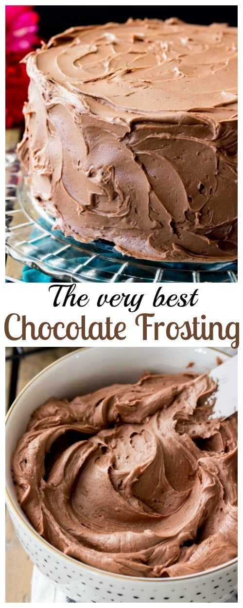 The very best Chocolate Frosting