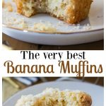 The very best Banana Muffins