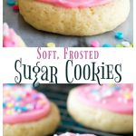 Soft, Frosted Sugar Cookies