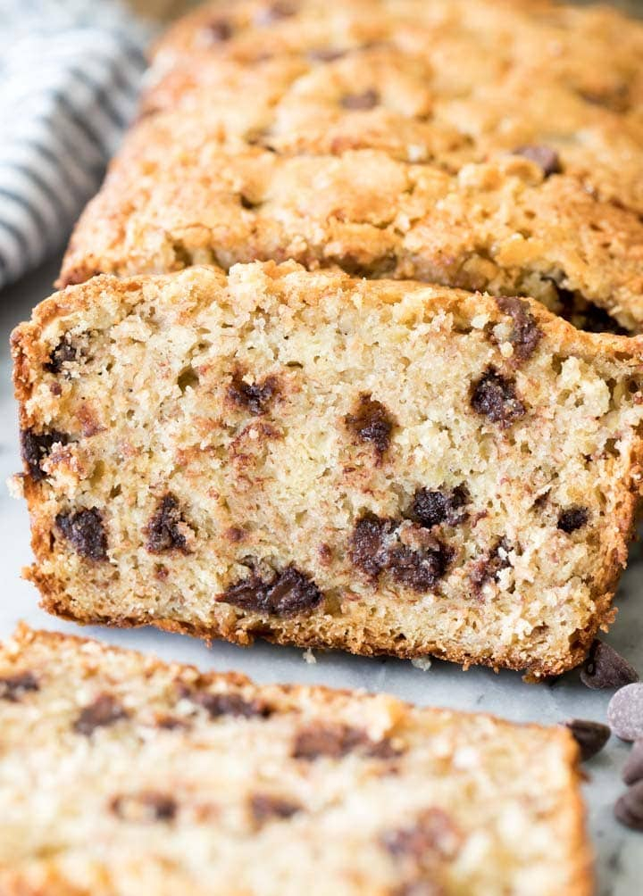The very BEST Chocolate Chip Banana Bread!